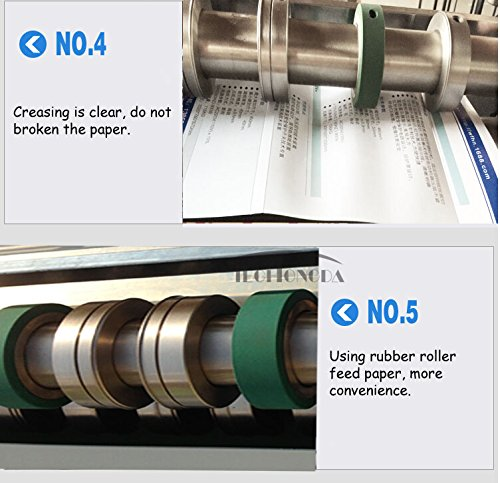 26inch 660mm Electric Creaser Scorer Perforator Paper Creasing Machine 110v by Creasing Machine (Image #9)