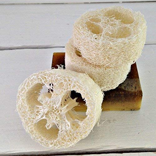 Puff Loofah Scrubbie | Loofah Round | Exfoliating Luffa | Facial Loofah | Facial Cleansing | Facial Care | Spa Gift | Spa Party