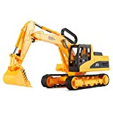 Big Construction Excavator Truck Toy for Kids with Shovel Arm Claw