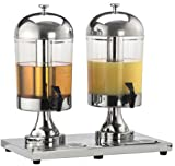 American Metalcraft (JUICE2) 8 ½ qt Double Stainless Steel Beverage Dispenser