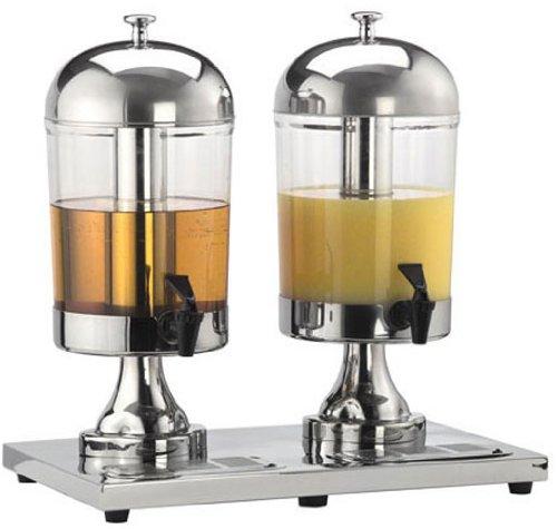 American Metalcraft (JUICE2) 8 ½ qt Double Stainless Steel Beverage Dispenser