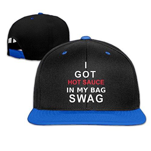 I Got Hot Sauce In My Bag SWAG Unisex Snapback Hip Hop Hat Trucker Cap