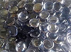 1kg (App 78–80gris morado de cristal pledger/piedras/Gems/cuentas de nuggets/30mm