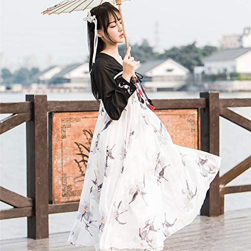 WHFDHF Dress Traditionele Folk Dans Nationale Dans Kostuum Brokaat Dames Klassieke Hanfu Kostuum Student Cosplay Kleding Dl3239