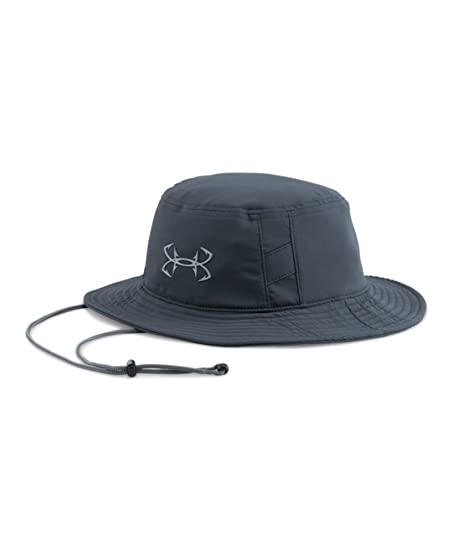 565b127f18640 Under Armour Men s UA Fish Hook Bucket Hat One Size Fits All STEALTH GRAY