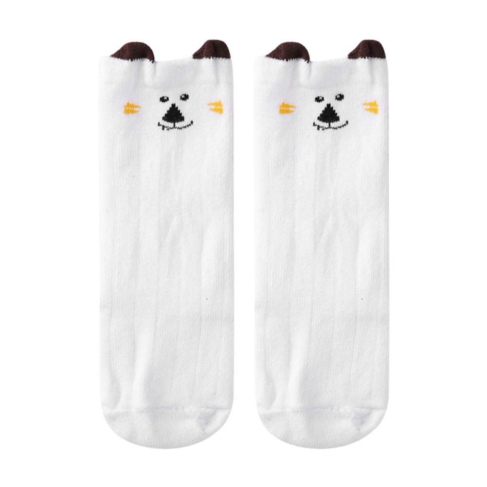 Silverone Calcetines De Algodón Bebé Niños Niñas De Dibujos Animados Animal Antideslizante Rodilla Alta Media Caliente