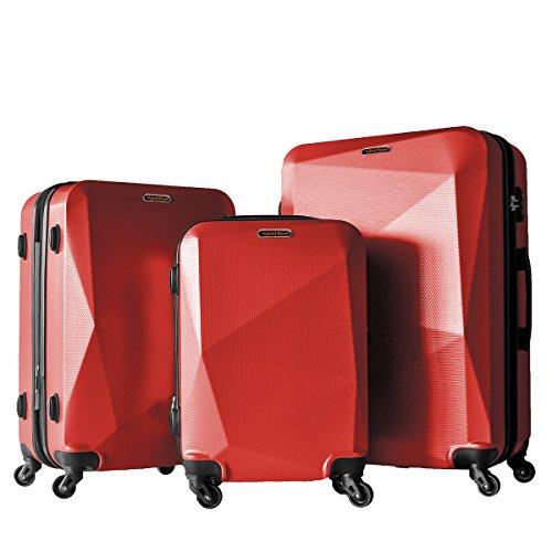 3 Piece Luggage Set Durable Lightweight Hard Case Spinner Suitecase LUG3 HD1629...