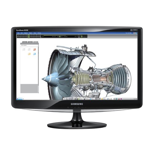 Price comparison product image Samsung B2330 23-Inch Widescreen LCD Monitor - Glossy Black