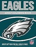 #7: NFL Philadelphia Eagles Unisex Adult Coloring Booknfl Adult Coloring Book, Green, White, 96 Coloring Pages