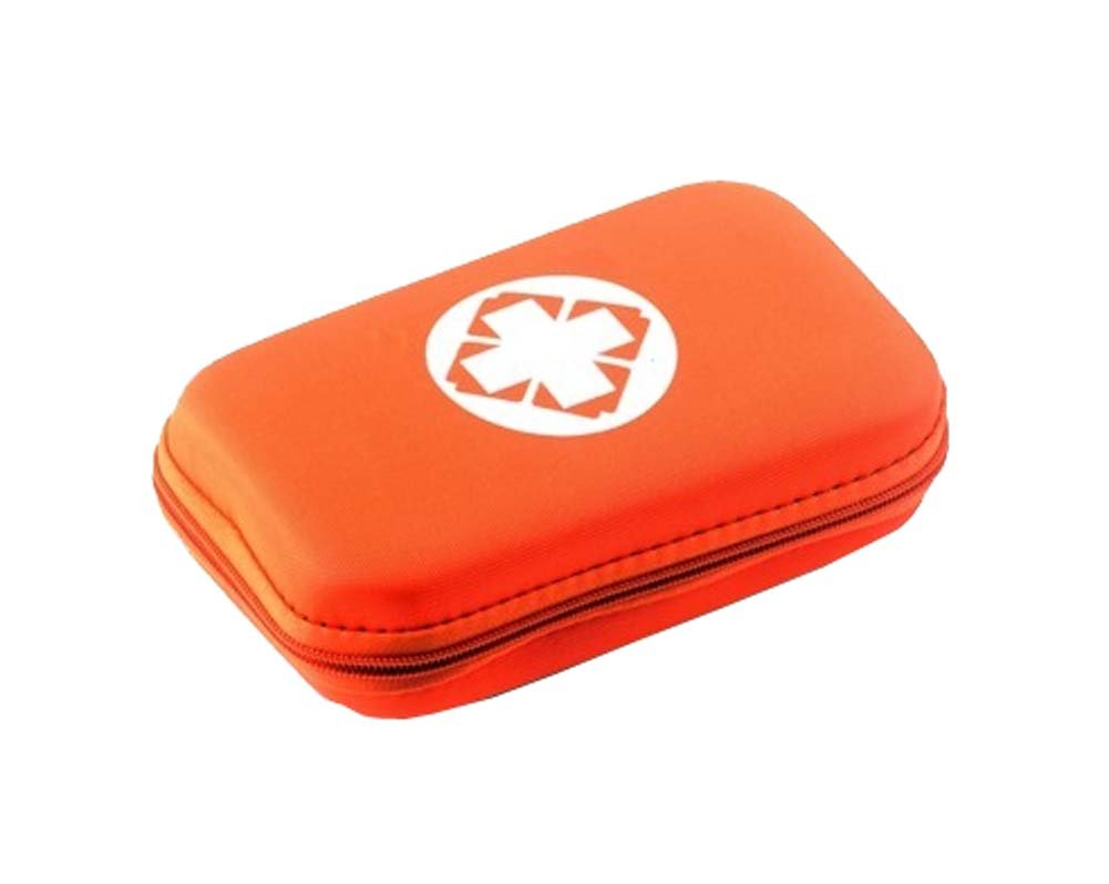 Small Travel Camping Sport Medical Emergency Storage Pouch,Orange