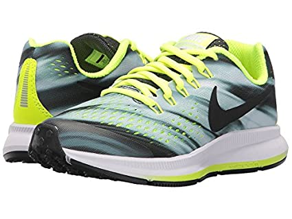 e4908688832c9 Amazon.com  Nike Kids Zoom Pegasus 34 Print Little Kid Big Kid  Anthracite Volt Black White Boys Shoes  Everything Else