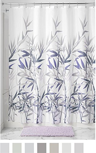 InterDesign Anzu Shower Curtain -  - shower-curtains, bathroom-linens, bathroom - 51lji4jboXL -