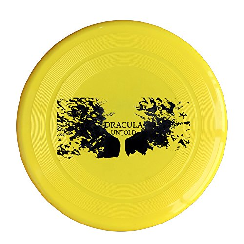 Greenday Fantasy Film High Quality Plastic Frisbee Yellow