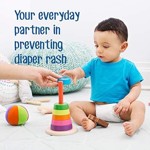 51ljiU7BJvL. AC - Desitin Daily Defense Baby Diaper Rash Cream With Zinc Oxide To Treat, Relieve & Prevent Diaper Rash, Hypoallergenic, Dye-, Phthalate- & Paraben-Free, 4.8 Oz