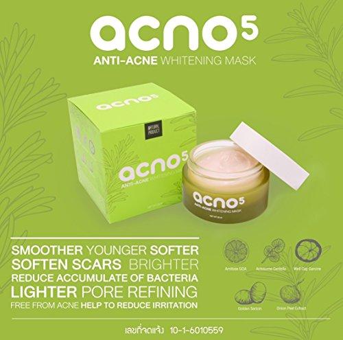 Acno5 Anti -Acne Whitening Mask Cream Skin Care Anti Aging Wrinkle