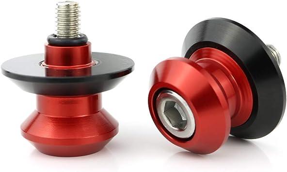 2pcs 8MM Universal Swingarm Swing Arm Spools Slider Stand Bobbins fit for Suzuki