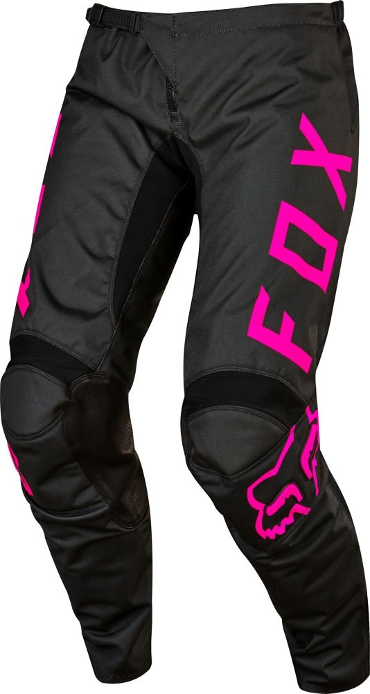 2017 Fox Racing Womens 180 Pants-Black/Pink-6 by Fox Racing