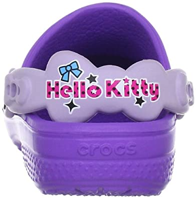 68838740bc969a Crocs Kids Hello Kitty Candy Ribbons Mules and Clogs Sandal  Amazon.co.uk   Shoes   Bags