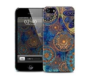 Grunge Pattern Rusty Flowers iPhone 5 / 5S protective case