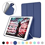 iPad Case for iPad Mini 4 - DTTO [Anti-Scratch] Ultra Slim Lightweight [Auto Sleep Wake] Smart Case Trifold Cover Stand with Flexible Soft TPU Back Cover for iPad mini4 - Navy Blue