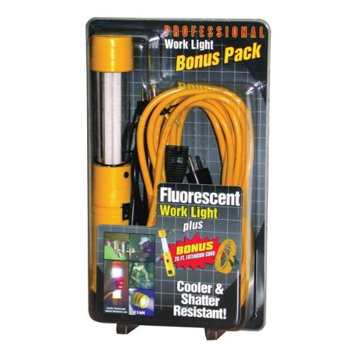 Bayco SL-920C Fluorescent Work Light and Extension Cord Bonus Pack
