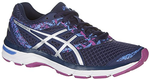 Image of the ASICS Women's Gel-Excite 4 Indigo Blue/Blue/Orchid Athletic Shoe 8.5 M US