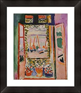 """""""Open Window Collioure"""" By Henri Matisse, framed/museum matted 24""""x 28"""""""