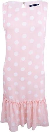 Tommy Hilfiger Women/'s Polka-Dot Shift Dress