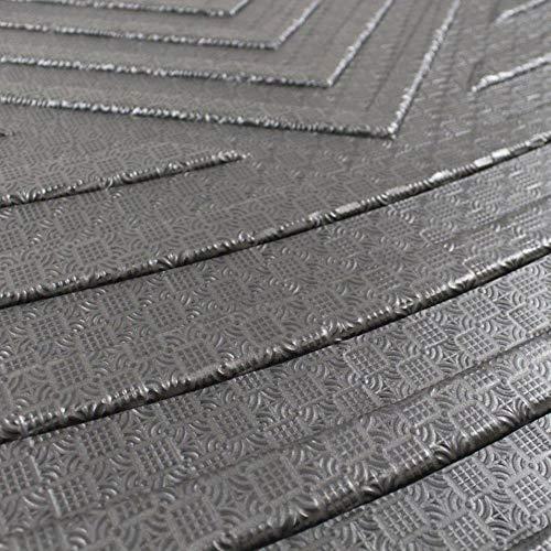 HermosaUKnight Estera del trazador de l/íneas del Maletero de la Carga del Tronco Posterior Durable del Alto Rendimiento Impermeable para Nissan X-Trail XTrail 2014-2018-negro