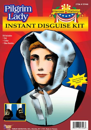 [Heroes in History - Pilgrim Lady Costume Kit] (Women In History Costumes)