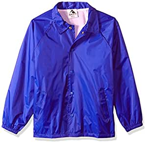 Augusta Youth Nylon Coaches Jacket Chaqueta, Infantil, Azul Cobalto, Large