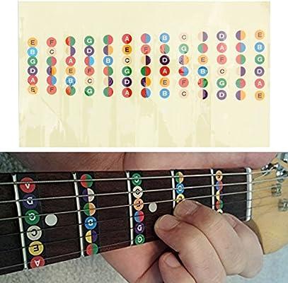 Pegatina de escala musical para guitarra acústica – YouMiYa ...