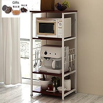 Muebles de cocina Armario abierto Estante de microondas Armarios de ...