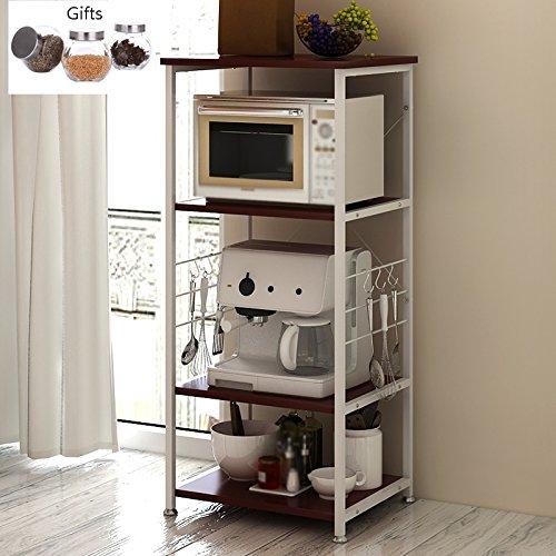 Muebles de cocina Armario abierto Estante de microondas Armarios ...
