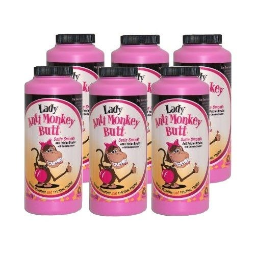 Case of Six (6) 07018 Lady Anti Monkey Butt Powder With C...