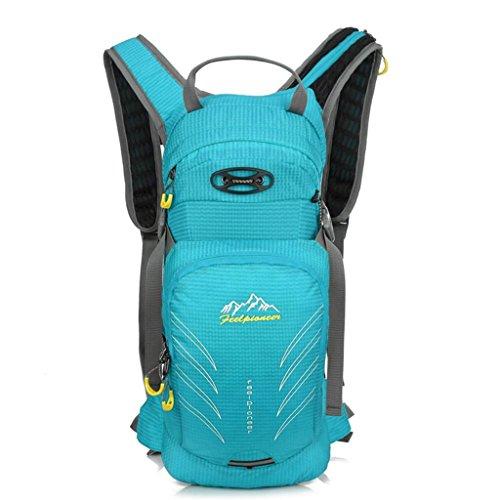 TaoMi- Mochila al aire libre - multi-propósito de viaje de bicicletas bolsa de viaje bolsa de hombres y mujeres al aire libre mochila impermeable bolso de escalada ( Color : Azul , Tamaño : 20L ) Azul