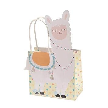 Neviti- Llama Love-Gift Bag-5 Pack Bolsas para regalo, Color ...