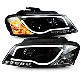 Generic For Audi A3 LED Strip Headlights Front Lamps 2008 to 2012 Year SN
