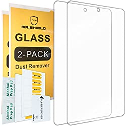 "[2-PACK]-Mr Shield For All-New Fire HD 8 Kids Edition Tablet 8"" Inch [Tempered Glass] Screen Protector [0.3mm Ultra Thin 9H Hardness 2.5D Round Edge] with Lifetime Replacement Warranty"