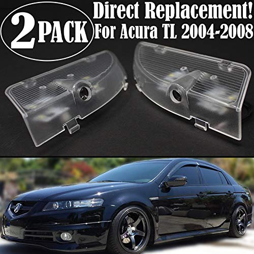 Ghost Shadow LED Projector Lights Door Logo Laser for Acura TL 2004-2008 UA6 UA7