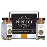 Urban Accents PERFECT PAIR Gourmet Essentials Spice Gift Set, Perfect for Weddings, Housewarmings or Any Occasion