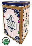 Rooibos Tea Bag Sampler Tin - 40 Caffeine Free, Organic Herbal Tagless Tea Bags, Variety Assortment with 4 Flavors, incl Rooibos Chai and Honeybush