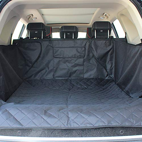 Galapara Pet Dog Cargo Cover Liner for SUV, Dog Car Seat Covers for Back Seat SUVs/Cars/Trucks, Oxford Waterproof Non-Slip Pet Backseat Mat Washable Protector 132 201cm