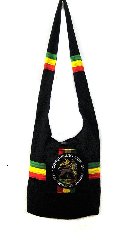 Amazon.com: Rasta with Lion Shoulder Purse Sling bag Tote bag: Shoes