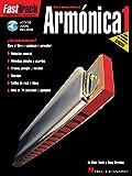 Fasttrack - Armonica 1 (Esp) Harmonica +CD (Fast Track (Hal Leonard))