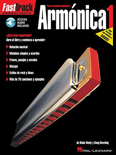 FastTrack Harmonica Method - Spanish Edition: FastTrack Armonica (Fast Track (Hal Leonard)) ()