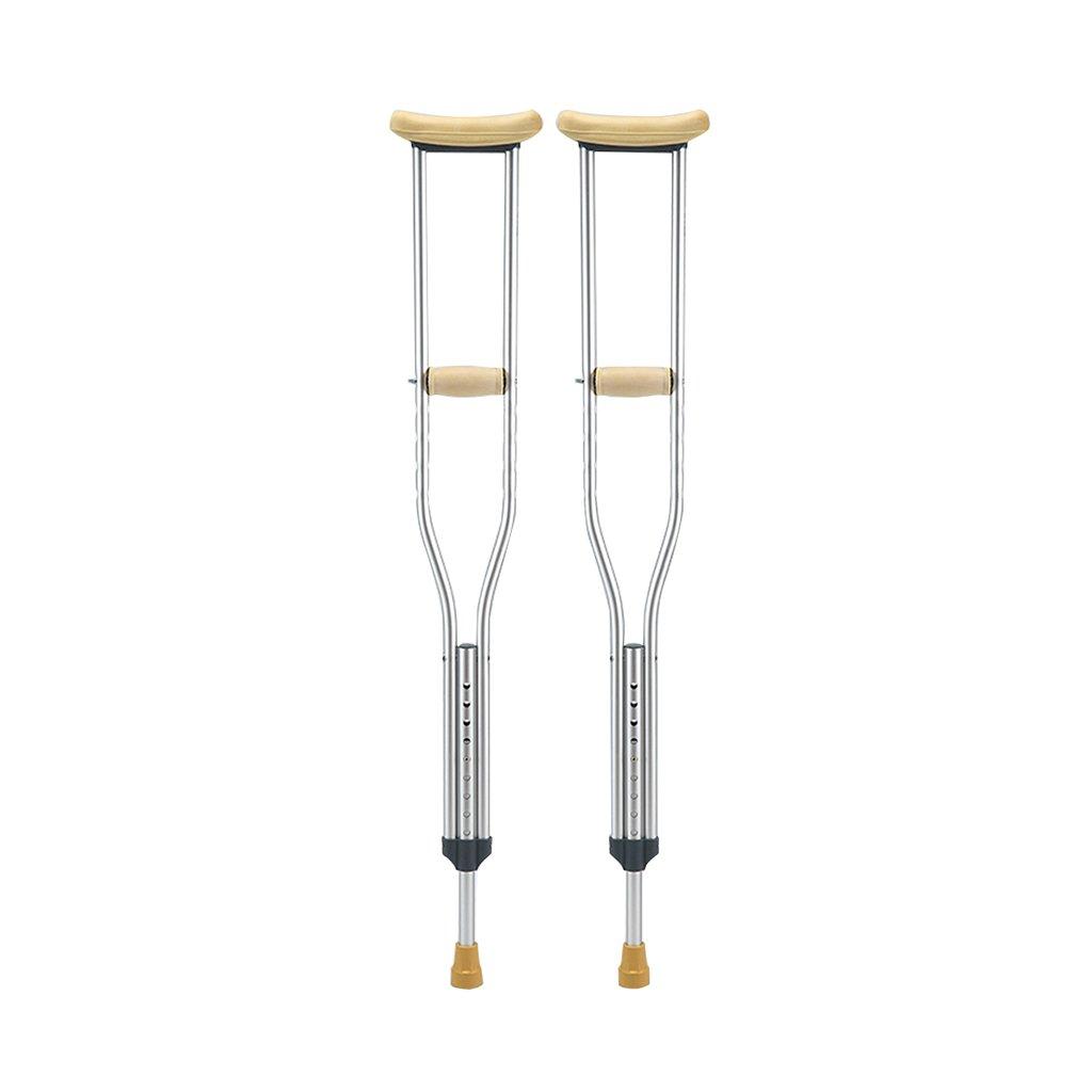 高齢者の杖の高さ調整可能なアンチスリップメディカルスティックのためのウォーキングスティックのペア (サイズ さいず : M) B07DL4CHNK Medium  Medium