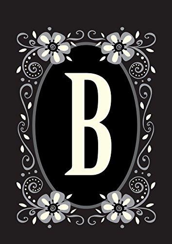 Toland Home Garden Classic Monogram B 12.5 x 18 Inch Decorat