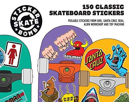 Stickerbomb Skateboard: 150 Classic Skateboard Stickers by Studio ...