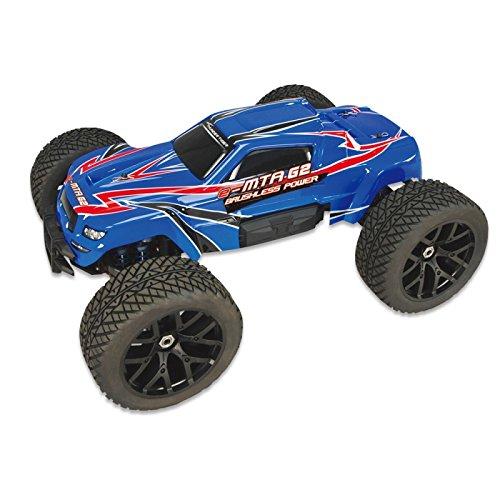 (Thunder Tiger RC 6407-F11 eMTA G2 Monster Truck, Blue)
